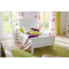Halifax White Painted Bedside Drawer Unit