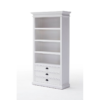 Halifax White Painted Bookcase 1