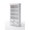 Halifax White Painted Bookcase 2