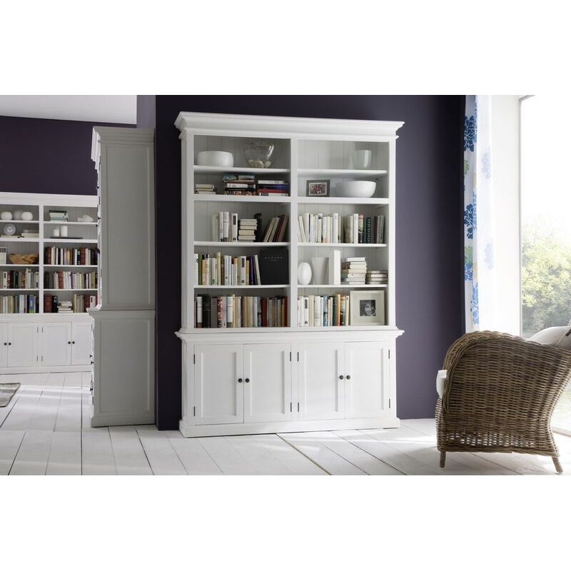 Halfiax White Painted Double Display Unit