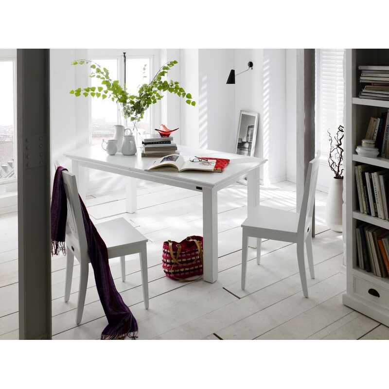 Halifax White Painted Extendable Table
