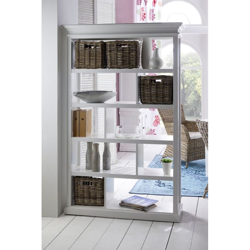 Halifax White Painted Room Divider
