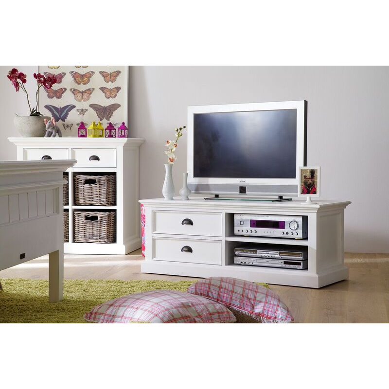 Halifax White Painted TV Unit