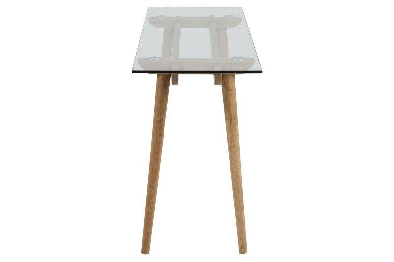 Taxi Scandinavian Glass Console Table