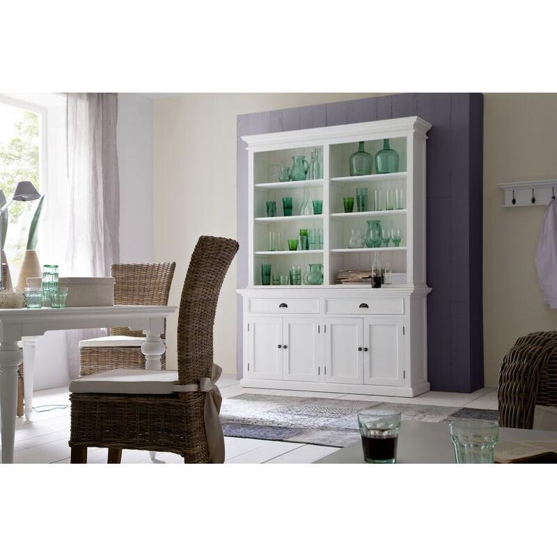 Halifax White Painted Bookcase Unit