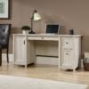 Chalked Wood Computer Desk