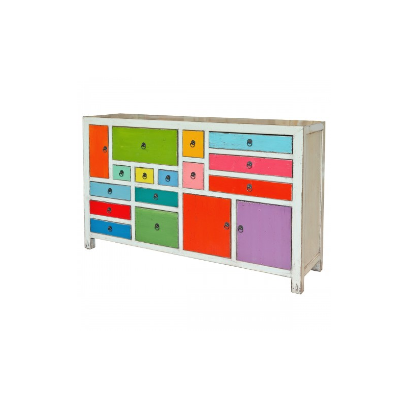 Farbig Large Multicoloured Sideboard