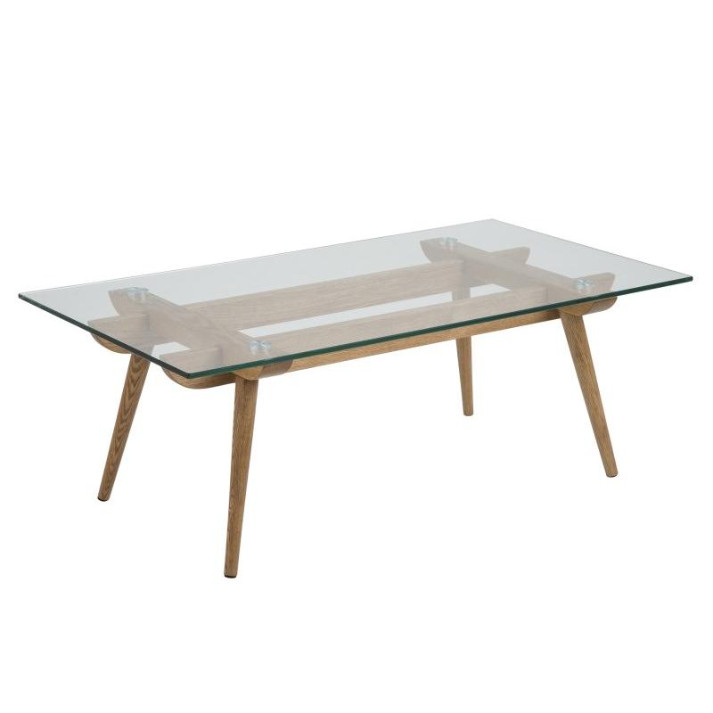 Taxi Scandinavian Glass Coffee Table