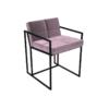 Federico Blush Velvet Dining Chair