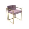 Federico Blush Velvet Dining Chair 2