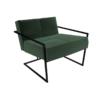Federico Deep Green Velvet Armchair 1