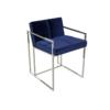 Federico Midnight Blue Velvet Dining Chair 1