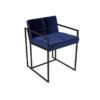Federico Midnight Blue Velvet Dining Chair