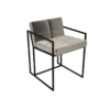 Federico Mushroom Velvet Dining Chair 1