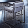 Federico Mushroom Velvet Dining Chair 3