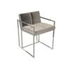 Federico Mushroom Velvet Dining Chair 5