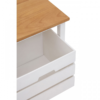 Newport White Painted 2 Drawer Bench 6