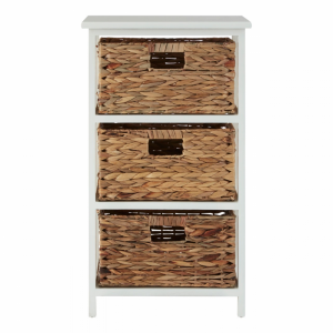 Padstow 3 Drawer Storage Unit
