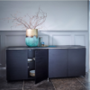 The Federico Black Stained Oak Sideboard 3