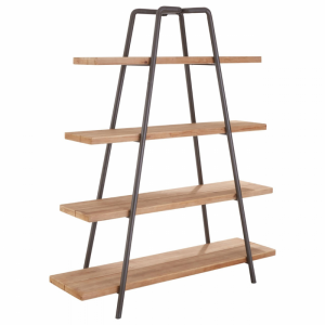 Trinity 4 Tier Wooden Shelf Unit 1
