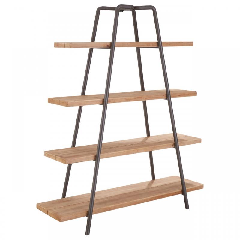 Trinity 4 Tier Wooden Shelf Unit
