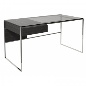 Federico Black Stained Oak Desk 4