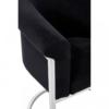Vogue Black Velvet Dining Chair 3