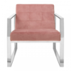vogue cocktail pink armchair