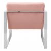 vogue cocktail pink armchair 3