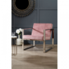 vogue cocktail pink armchair 5