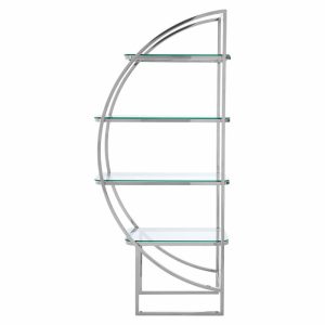 Vogue 4 Tier Shelf Unit | Left Side