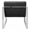 Black Velvet Armchair 3