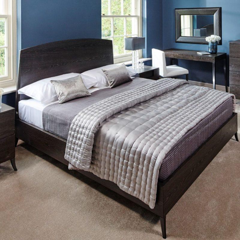 Fitzroy Charcoal Oak Bed Frame