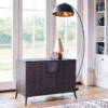 Fitzroy Charcoal Oak TV Sideboard lifestyle