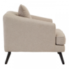 Mylo Natural Fabric Armchair 2