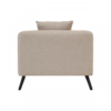 Mylo Natural Fabric Armchair 3