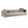 Rena Grey Velvet 3 Seater Sofa