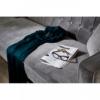 Rena Grey Velvet 3 Seater Sofa 5