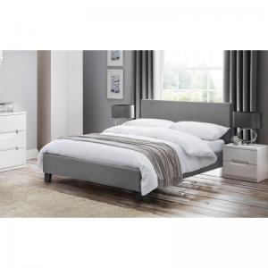 Rialto Grey Fabric Bed 1