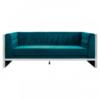 Velvet Teal 3 Seater Sofa