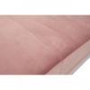 ogue Pink Velvet 3 Seater Sofa 4