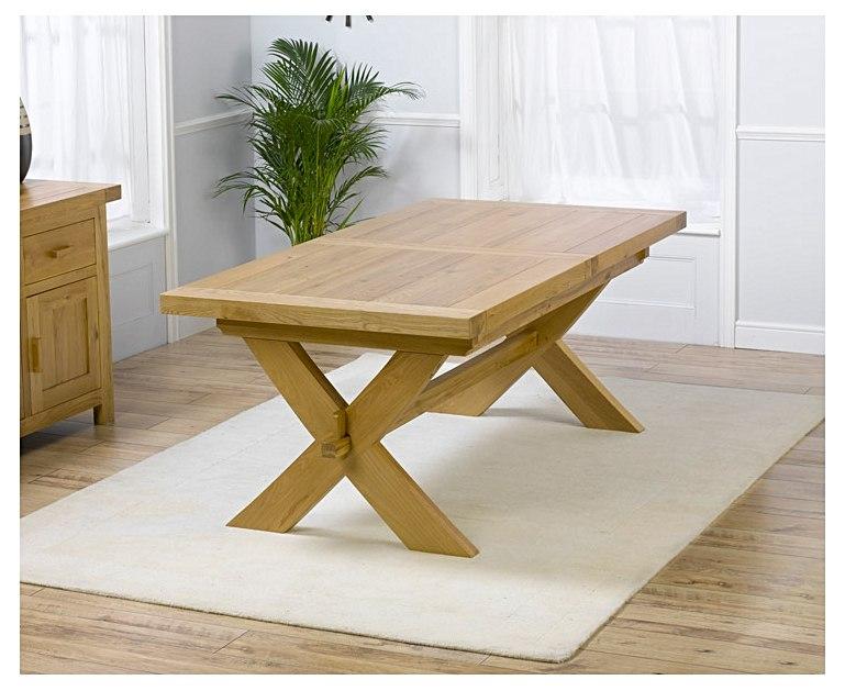Avignon 200 cm Solid Oak Dining Table