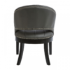 Dorchester Grey Faux Leather Chair 1