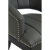 Dorchester Grey Faux Leather Chair 2