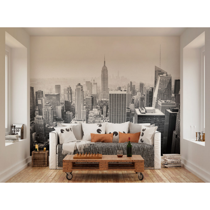 Empire State Wall Mural (Size: L: 3.0m (wide) x 2.4m (high))