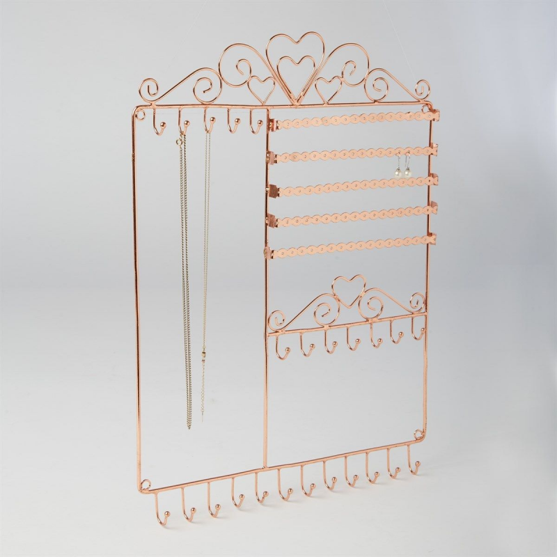 Copper Jewellery Wall Stand