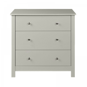 Florence 3 Drawer Soft Grey Chest 1