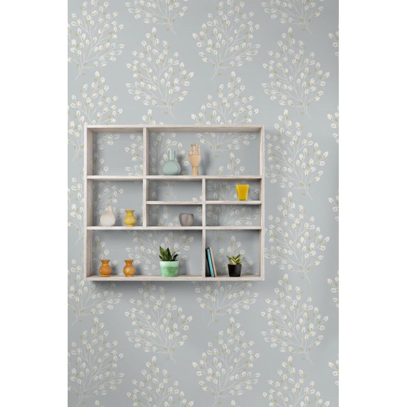 Grandeco Willow Teal Wallpaper
