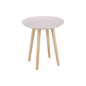 Maeva Scandinavian Pink Lamp Table (1)