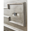 Ophelia Silver Mirror Bedside Table 2